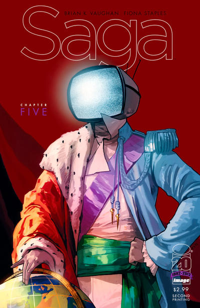 Cover for Saga (Image, 2012 series) #5