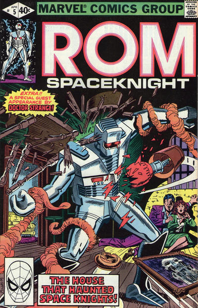 Cover for ROM (Marvel, 1979 series) #5 [Newsstand Edition]