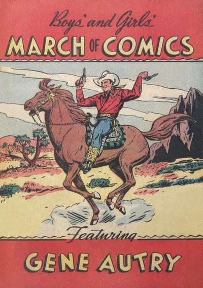 Cover for March of Comics (Western, 1946 series) #25