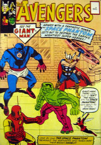 Cover Thumbnail for Avengers (Yaffa / Page, 1978 ? series) #1