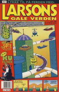 Cover Thumbnail for Larsons gale verden (Bladkompaniet, 1992 series) #8/1996