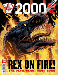 Cover Thumbnail for 2000 AD (Rebellion, 2001 series) #1784