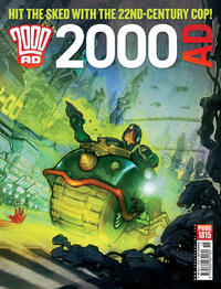 Cover Thumbnail for 2000 AD (Rebellion, 2001 series) #1815