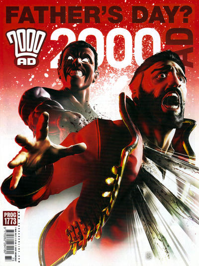Cover for 2000 AD (Rebellion, 2001 series) #1773