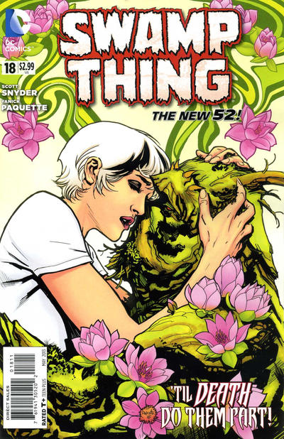 Cover for Swamp Thing (DC, 2011 series) #18