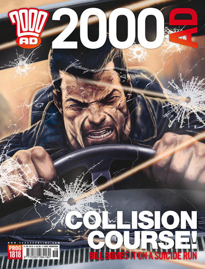 Cover for 2000 AD (Rebellion, 2001 series) #1818