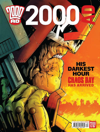 Cover for 2000 AD (Rebellion, 2001 series) #1787