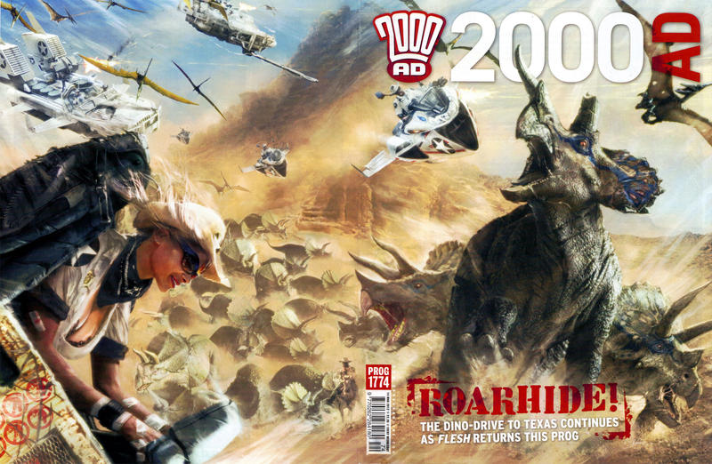 Cover for 2000 AD (Rebellion, 2001 series) #1774