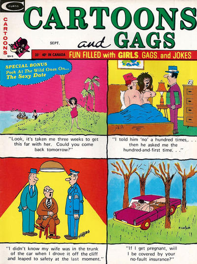 Cover for Cartoons and Gags (1958 series) #v21#7
