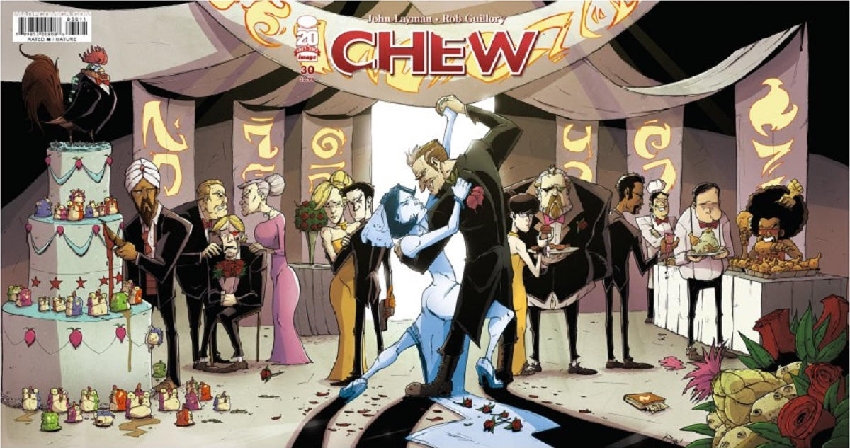 Cover for Chew (Image, 2009 series) #30