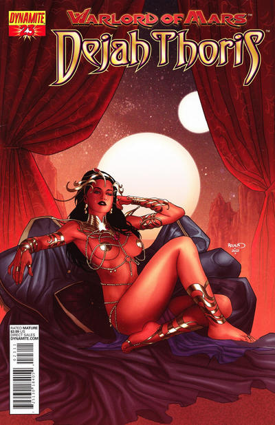Cover for Warlord of Mars: Dejah Thoris (Dynamite Entertainment, 2011 series) #23 [Paul Renaud Cover]