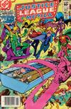 Cover for Justice League of America (DC, 1960 series) #220 [Newsstand]