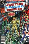 Cover Thumbnail for Justice League of America (1960 series) #229 [newsstand]