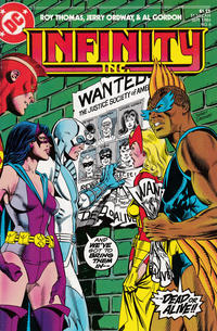 Cover Thumbnail for Infinity, Inc. (DC, 1984 series) #6