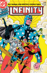Cover Thumbnail for Infinity, Inc. (DC, 1984 series) #11