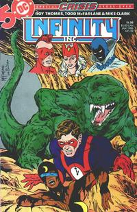 Cover Thumbnail for Infinity, Inc. (DC, 1984 series) #22