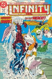 Cover Thumbnail for Infinity, Inc. (DC, 1984 series) #26