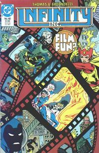 Cover Thumbnail for Infinity, Inc. (DC, 1984 series) #40