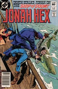 Cover for Jonah Hex (1977 series) #63