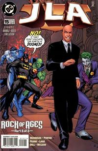 Cover for JLA (1997 series) #15