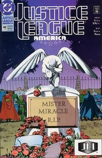 Cover Thumbnail for Justice League America (DC, 1989 series) #40
