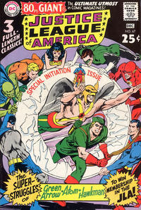 Cover for Justice League of America (1960 series) #67