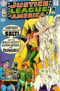 Cover Thumbnail for Justice League of America (DC, 1960 series) #72
