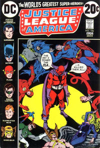 Cover Thumbnail for Justice League of America (DC, 1960 series) #106