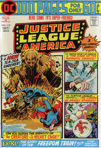 Cover for Justice League of America (1960 series) #113