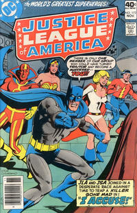 Cover Thumbnail for Justice League of America (DC, 1960 series) #172 [Regular Edition]