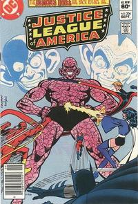 Cover Thumbnail for Justice League of America (DC, 1960 series) #206 [Newsstand]