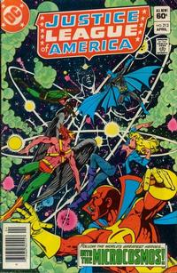Cover Thumbnail for Justice League of America (DC, 1960 series) #213 [Newsstand]