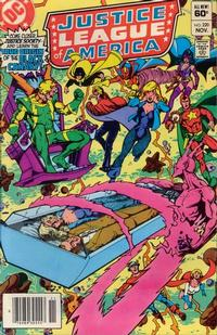 Cover Thumbnail for Justice League of America (DC, 1960 series) #220 [Newsstand]
