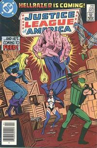 Cover for Justice League of America (DC, 1960 series) #225 [Newsstand]