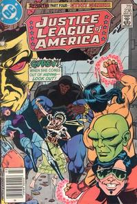 Cover Thumbnail for Justice League of America (DC, 1960 series) #236 [Newsstand Edition]