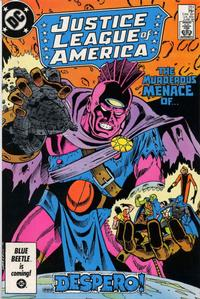 Cover for Justice League of America (DC, 1960 series) #251 [Direct Edition]