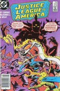 Cover Thumbnail for Justice League of America (DC, 1960 series) #252