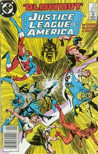 Cover Thumbnail for Justice League of America (DC, 1960 series) #254