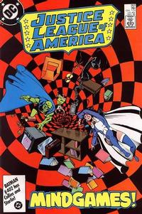 Cover Thumbnail for Justice League of America (DC, 1960 series) #257 [Direct Edition]