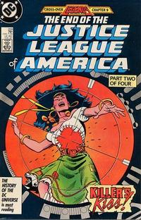 Cover Thumbnail for Justice League of America (DC, 1960 series) #259 [Direct Edition]