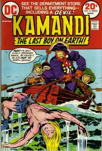 Cover Thumbnail for Kamandi, The Last Boy on Earth (DC, 1972 series) #11