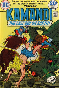 Cover Thumbnail for Kamandi, The Last Boy on Earth (DC, 1972 series) #14
