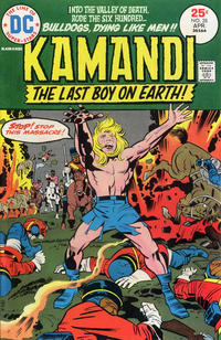 Cover Thumbnail for Kamandi, The Last Boy on Earth (DC, 1972 series) #28