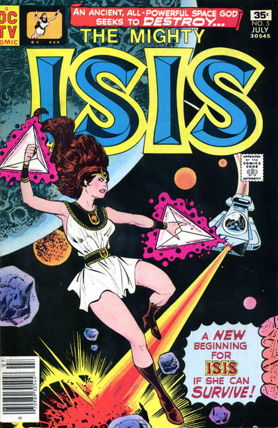 Cover for Isis (DC, 1976 series) #5