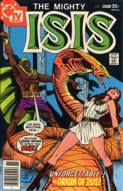 Cover for Isis (DC, 1976 series) #7