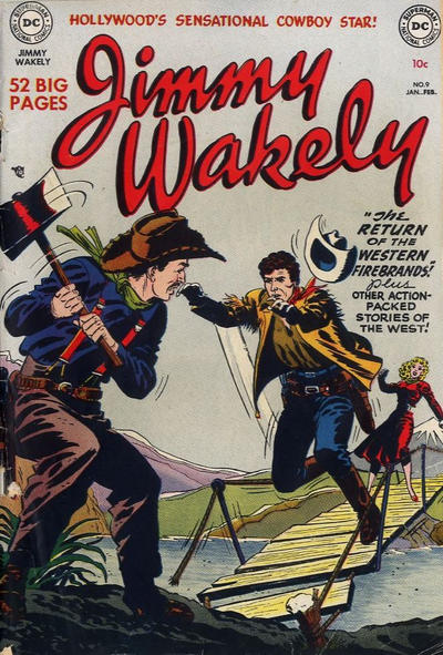 Cover for Jimmy Wakely (DC, 1949 series) #9
