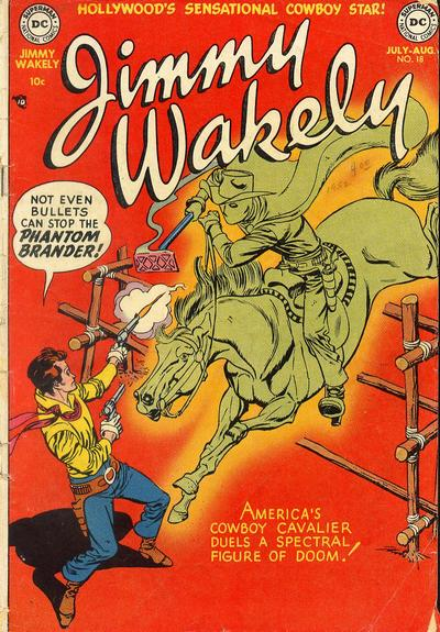 Cover for Jimmy Wakely (DC, 1949 series) #18