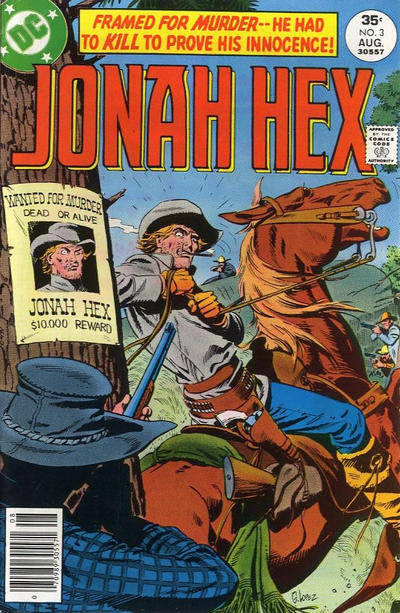Cover for Jonah Hex (1977 series) #3