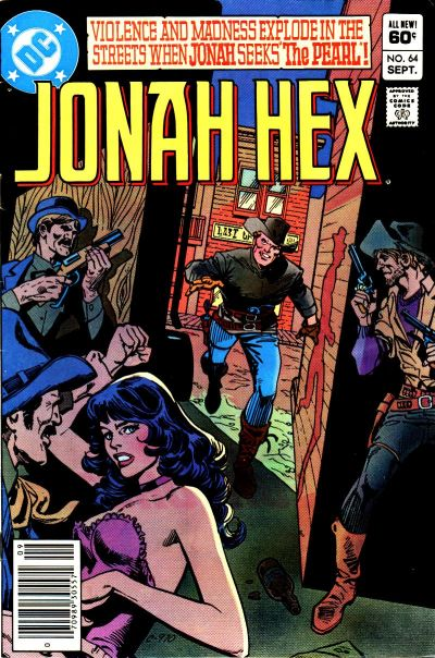 Cover for Jonah Hex (1977 series) #64