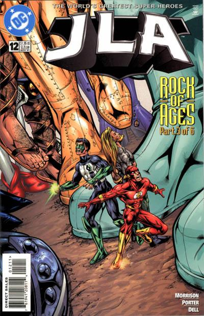 Cover for JLA (DC, 1997 series) #12
